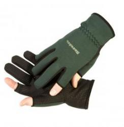 Light Neoprene Gloves in Dark Green