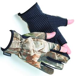Light Neoprene Gloves in Camo