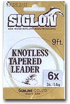 Sunline Siglon Knotless Tapered Leader