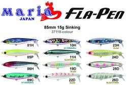 Maria FLA-PEN colour chart