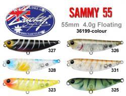 Sammy 55 colour chart