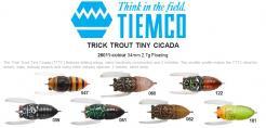 Trick Trout Tiny Cicada