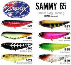 Sammy 65 new colours